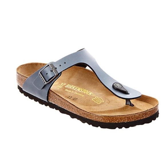 354f854fed41 Birkenstock Shoes - Birkenstock Gizeh Birko-Flor thong sandal Onyx 38